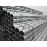 China Rigid Sch 40 Galvanized Pipe , 40 G - 300 G Hot Dip Galvanized Steel Pipe on sale