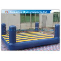 China Custom Sports Bouncy Boxing Inflatable Wrestling Ring For Adult / Kids on sale