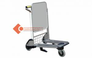 China Heavy Duty Travel Shopping / Airport Airport Baggage Trolley 960*675*1065mm on sale