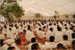Barracas do Special Event da peregrinação, barraca exterior do dossel para atividades religiosas