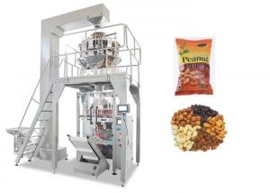 China Fully Automatic Muilti- heads Weigher Packaging Machine For Nuts / Peanut / Dry Fruits on sale