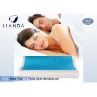 China Visco rectangle Cooling Gel Pillow , wave summer cooling gel memory pillow on sale