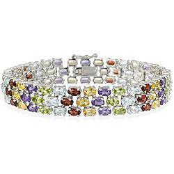 China sterling silver cubic zirconia bracelet on sale