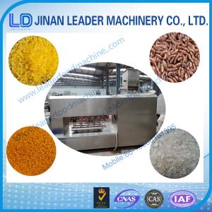 China Stainless steel artificial Rice Extruder Machine food process equipment on sale