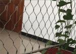 China Green Wall Stainless Steel Cable Trellis Diamond / Rhombus Mesh Shape wholesale