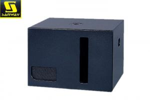 China Big Bass Woofer Speakers 41Kg Home Stereo Subwoofer With Recess Carry Handles on sale