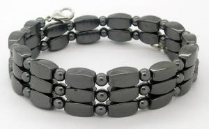 China Fashion good for health various color hematite magnetic bracelet health on sale