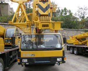 China 35 Ton Mobile Crane XCMG Truck Crane Qy35k5 on sale