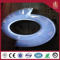 Professional custom 3D auto manufacture sound thin vacuum strong light acrylic led car log
