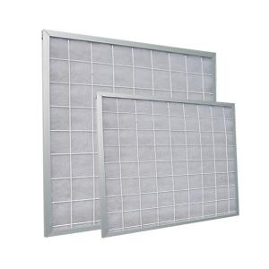 China Extended Surface Pleated Panel Air Filters , Synthetic Media Industrial Hepa Filters on sale