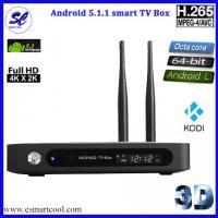 CSA91 Android 5.1 Octa core atá leagtha barr STB smart tv box RK3368 WIFI Bluetooth 4.0
