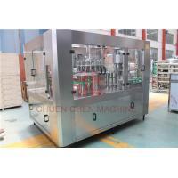 6000 BPH Hot Juice Filling Machine 330ml - 1500ml Plastic Screw Cap Type