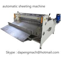 automatic roll to sheet cutting machine for PET, PC, PVC, PCB, FPC