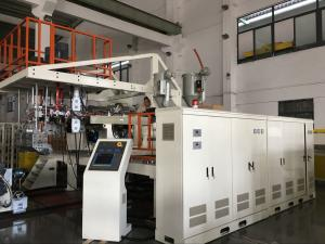 China New Design Three Layers PC ABS Co-Extrusion Luggage Sheet Extrusion Machine For Suitcase Making on sale