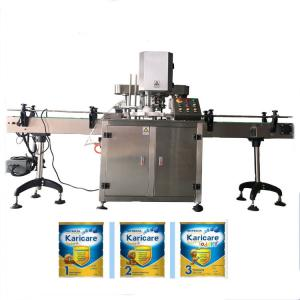 China Automatic Tin can jar sealing machine can sealer on sale