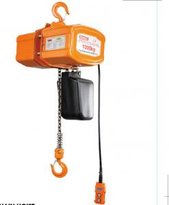 China 5 Ton Chain Hoist / Electric Chain Block Hoist 12m Maximum Lifting Height on sale