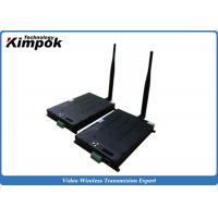 60km UAV Video Transmitter 8Mhz Ethernet TDD COFDM Transceiver Real-time Two Way Transmission