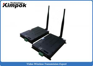 China 60km UAV Video Transmitter 8Mhz Ethernet TDD COFDM Transceiver Real-time Two Way Transmission on sale
