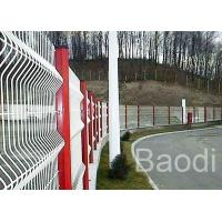 White Welded Wire Mesh Fence Reliable Security For Machine Protection 2.4m X 3m