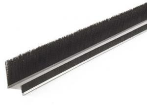 China Horse Hair Bristle Garage Door Draught Excluder Brush , Window Seal Brush on sale