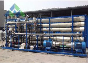 China Industrial Ro Seawater Desalination Plant With UV Light Sterilizer Heavy Weight on sale