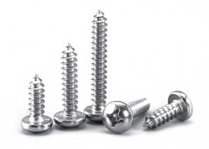 China Self Drilling Self Tapping Metal Screws Pan Head Phillips Self Tapping Bolts For Steel on sale