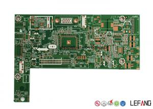China ENIG Surface Treatment OSP PCB Circuit Board For Security Electronic Intercom Signal on sale
