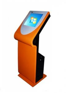 China Infrared Display Touch Screen Health Information Kiosk With Multi Language on sale