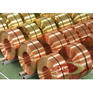 China Thin Insulated Electrolytic Copper Foil Roll , Copper Sheet Metal on sale