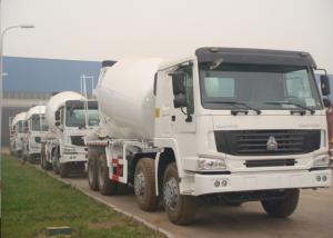 China Sinotruk HOWO 8x4 Special Purpose Trucks , 12 Cbm Concrete Agitator Truck on sale
