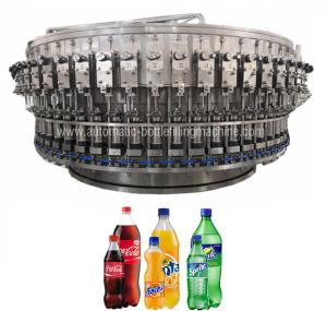 China High Speed Automatic Bottle Filling Machine Fizzy Drink , Sparkling Water Packaging on sale
