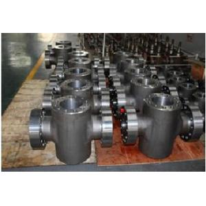 China API 6A Inconel Alloy 625(UNS N06625,2.4856) CNC machined Machining Turned Turning Forged Forging Gate Valve Body Bodies on sale