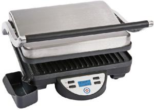 China 1800W Panini Contact Grill , Easy Cleaning Sandwich Press And Grill supplier