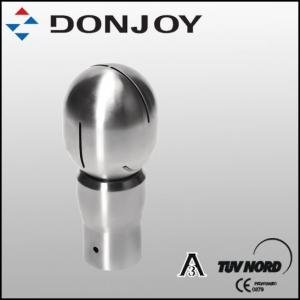 Quality Fermentation Round Rotary Stainless Steel Spray Ball Clamp Pin Connection for sale