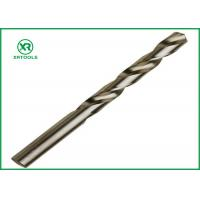 Bright Finish HSS Drill Bits For Hardened Steel DIN 338 Straight Shank Left Hand