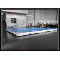 DWF Sky Blue Inflatable Air Tumble Track Of 10 Square Meters