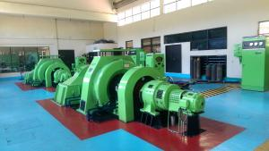 China Types Of Turbines Used In Hydroelectric Power Plants on sale