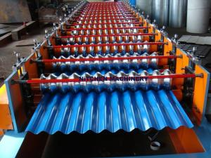 China Metal Roof corrugation machine line on sale