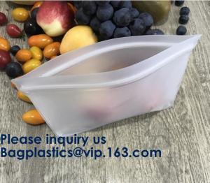 China Eco Friendly Amazon Reusable Storage Sandwich Color Ziplock Peva Bag,Snack Peva Bag Food Package Snack Packaging Bag on sale