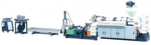 China PP Plastic Flakes Recycling Machine , Plastic Granules Manufacturing Machine on sale