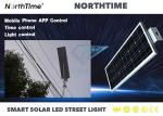 Monocrystalline Silicon Highway LED Solar Street Lights 6-7 hours Charge Time 9000LM Efficiency
