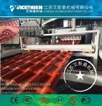 PVC glazed/corrugated/wave roofing sheet/plate/board extruder