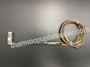 China Hot Runner Heating Element Brass Coil Heaters For Plastic Injection Molding on sale