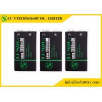 Long Cycle Life CR9V Square Lithium Battery Custom Design 1200mAh Capacity