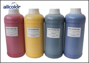 China 6 Color Compatible Printer Inkjet Ink , Waterproof Eco Solvent Ink on sale