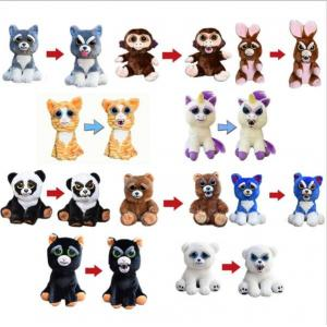 China Fashion Feisty Pets Toys Animal Soft Toys 22cm For Playing on sale