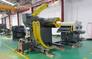 China Automatic Steel Sheet Coil Handling Equipment Type Stamping Press Feeder on sale