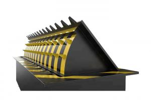 China Hotel Entrance Control 3.75KW  Hydraulic Road Blocker For Anti - Corrosion Security on sale
