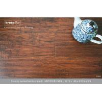 Hand scraped E0 Classical walnut Laminate Flooring with European retro style