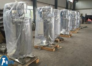 China Waste Oil SS Tubular Centrifuge , Coconut Oil High Speed Centrifuge Machine on sale